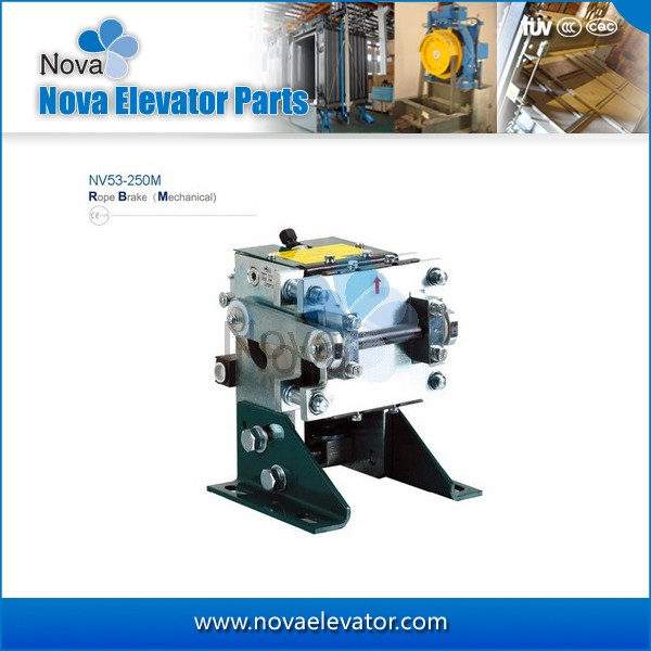 NV53-250M (Mechanical) Elevator Rope Gripper, Elevator Wire Holder ...